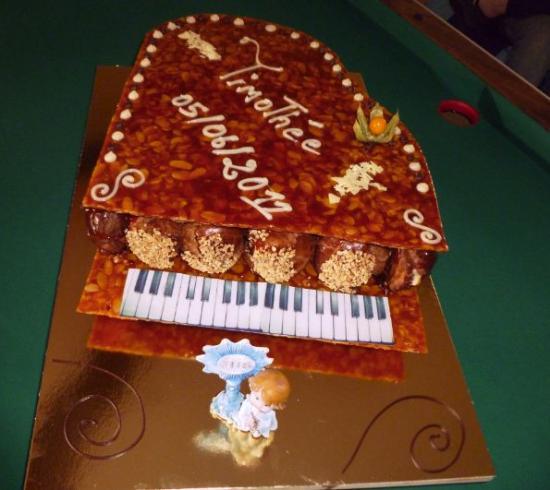piano en choux et nougatine